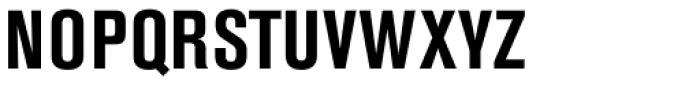 Berthold Akzidenz-Grotesk Bold Condensed Font UPPERCASE