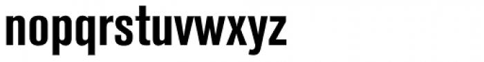 Berthold Akzidenz-Grotesk Bold Condensed Font LOWERCASE