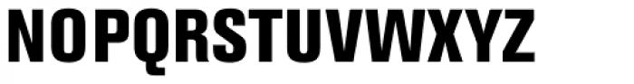 Berthold Akzidenz-Grotesk ExtraBold Condensed Font UPPERCASE