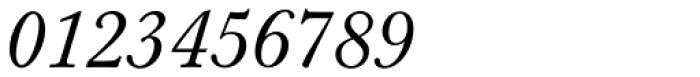 Berthold Baskerville Book Italic Font OTHER CHARS