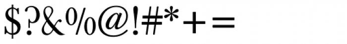 Berthold Baskerville Book Regular Font OTHER CHARS