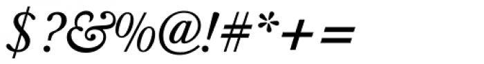 Berthold Baskerville Italic Font OTHER CHARS