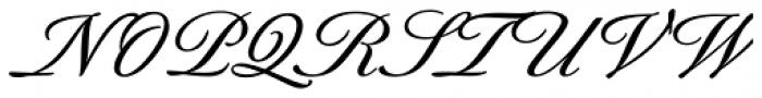 Berthold-Script BQ Medium Font UPPERCASE
