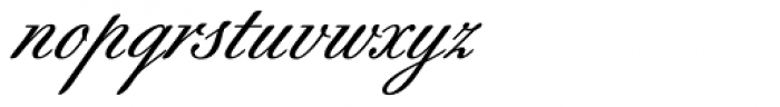 Berthold-Script BQ Medium Font LOWERCASE