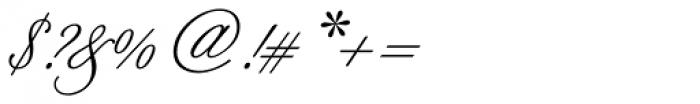 Berthold Script Pro Regular Font OTHER CHARS