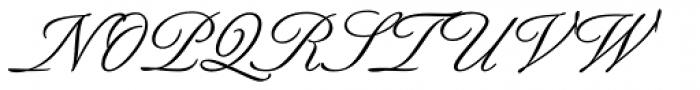 Berthold Script Pro Regular Font UPPERCASE