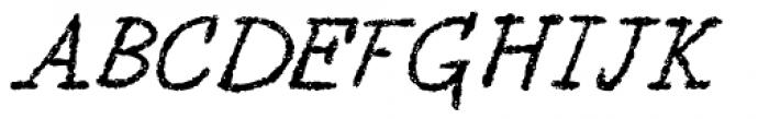Berton Voyage Font UPPERCASE