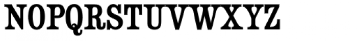 Besley Clarendon Font UPPERCASE
