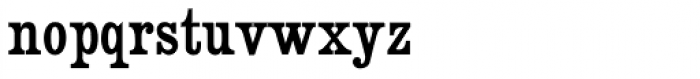 Besley Clarendon Font LOWERCASE