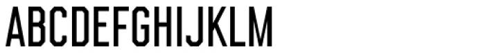 Bessemer Semibold Font LOWERCASE