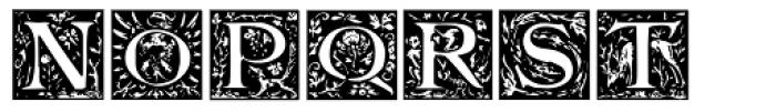 Bestiary Font UPPERCASE