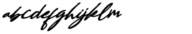 Bestowens Bold Italic Font LOWERCASE