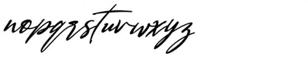 Bestowens Italic Font LOWERCASE
