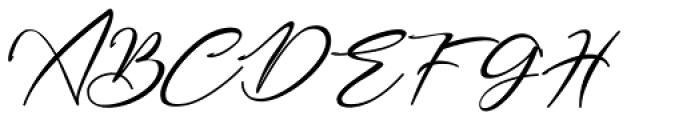 Bestowens Light Font UPPERCASE