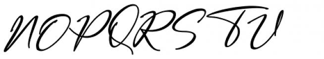 Bestowens Regular Font UPPERCASE