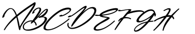 Bestowens Semi Bold Italic Font UPPERCASE