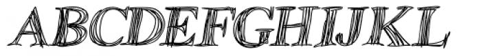 Betabet Italic Font UPPERCASE
