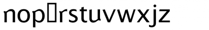 Betabet Sans Fonetik Font LOWERCASE