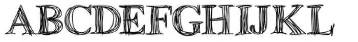 Betabet Font UPPERCASE