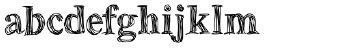 Betabet Font LOWERCASE