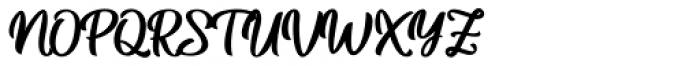 Betharie Regular Font UPPERCASE