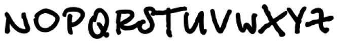 Betina Script ExtraBold Font UPPERCASE