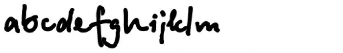 Betina Script ExtraBold Font LOWERCASE