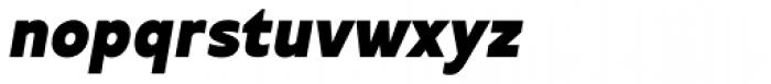 Betm Black Italic Font LOWERCASE