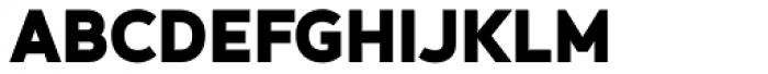 Betm Black Font UPPERCASE