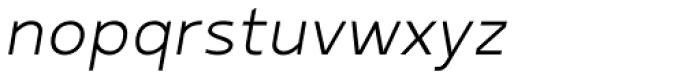 Betm Light Italic Font LOWERCASE