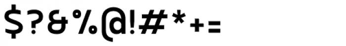 Betm Medium Font OTHER CHARS