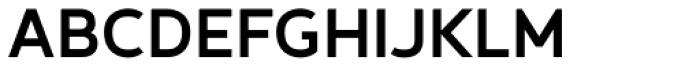 Betm Medium Font UPPERCASE