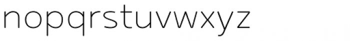 Betm Rounded Extra Light Font LOWERCASE