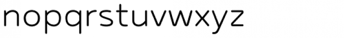 Betm Rounded Light Font LOWERCASE