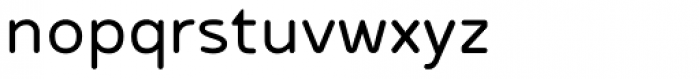 Betm Rounded Semi Light Font LOWERCASE