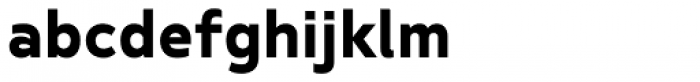 Betm SemiBold Font LOWERCASE