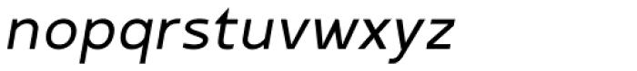 Betm SemiLight Italic Font LOWERCASE