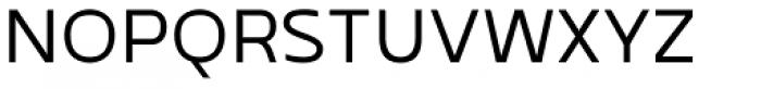 Betm SemiLight Font UPPERCASE