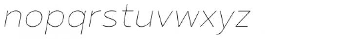 Betm Thin Italic Font LOWERCASE