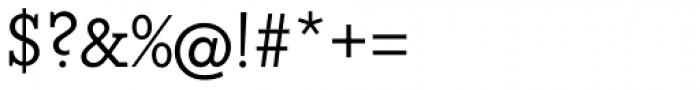 Beton DemiBold Font OTHER CHARS