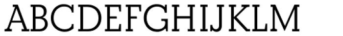 Beton DemiBold Font UPPERCASE