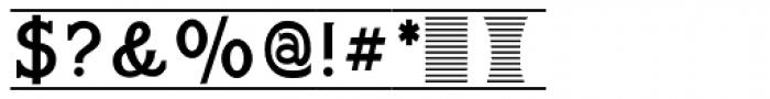 Bettendorff Font OTHER CHARS