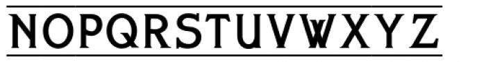 Bettendorff Font LOWERCASE