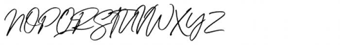 Better Friend Regular Font UPPERCASE