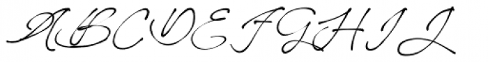 Better Regards Regular Font UPPERCASE