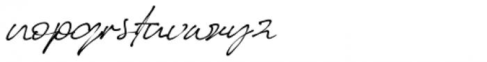 Better Regards Regular Font LOWERCASE