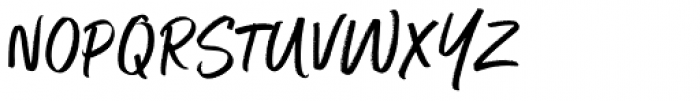 Better Times Font UPPERCASE