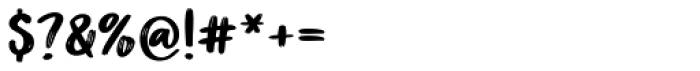 Better Together Script Font OTHER CHARS