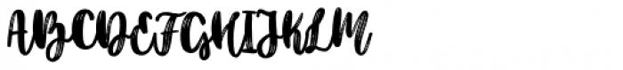 Better Together Script Font UPPERCASE