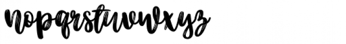 Better Together Script Font LOWERCASE